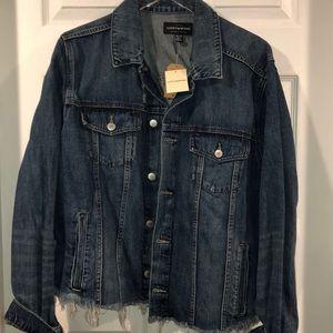 Lucky brand medium wash  jacket 3x NWT